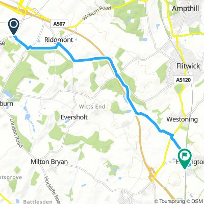 Spred Out Monday Route In Bedford