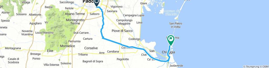 La via del mare da Padova a Ca'Roman