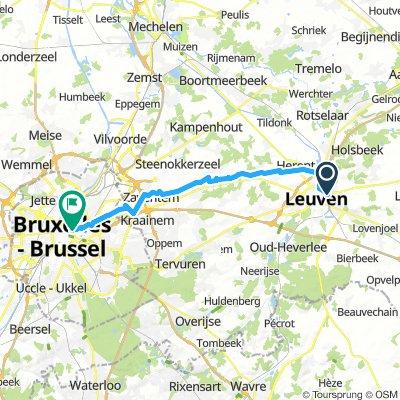 Löwen - Brüssel