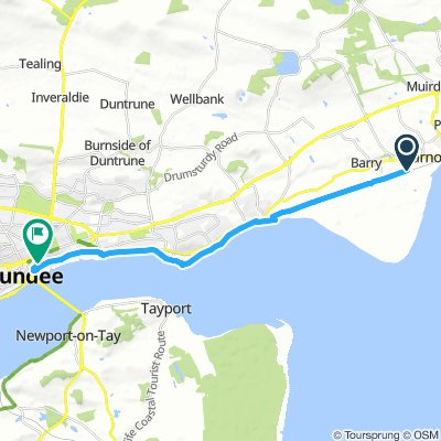 Cycling Routes And Bike Maps In And Around Carnoustie Bikemap