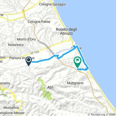 Spred Out Montag Route In Atri