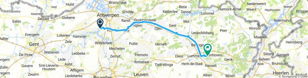 Anvers - Hasselt