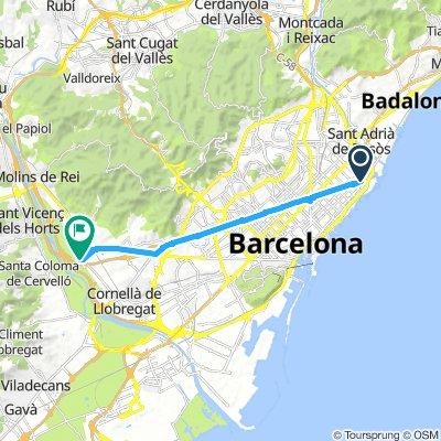 CyC 00-200 Sant Adrià a Sant Feliu de Llobregat