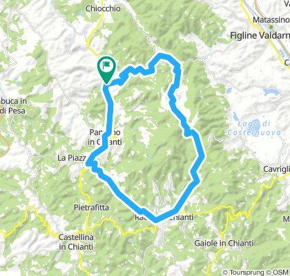 Option 2 - Greve in Chianti - Radda in Chianti