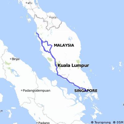 Singapore und Malaysia