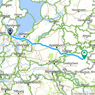 Amsterdam to Groenlo