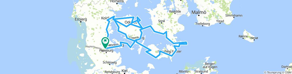 Ostsee route
