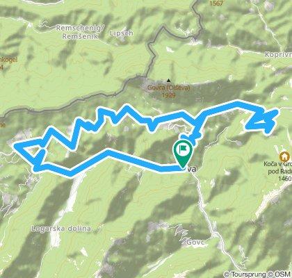 tura po panoramski cesti in na Bukovnik