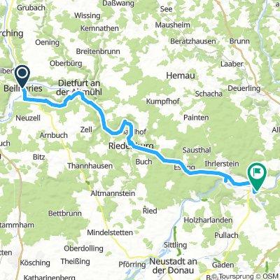 H3E05a-Beilngries-Kehlheim-Saal a.d.Donau