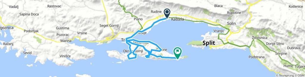 UNESCO town Trogir tour level 2