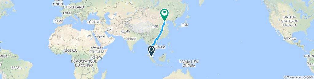 Tour du monde - Asie