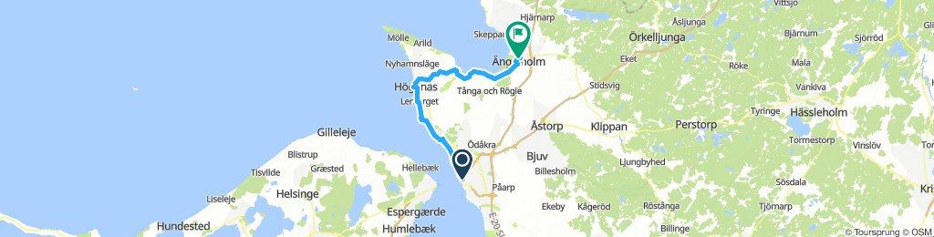 Helsingborg - Ängelholm, short