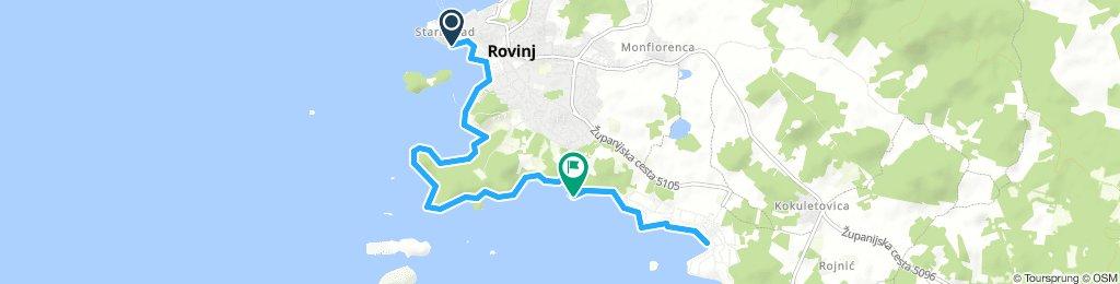 Rovinj (Tourist-info) - Park Zlatni Rt. - Polari Camping