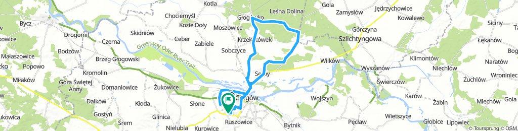 Głogów - Głogówko - Serby