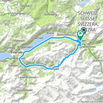 Grosse Scheidegg rondtour Z-variant