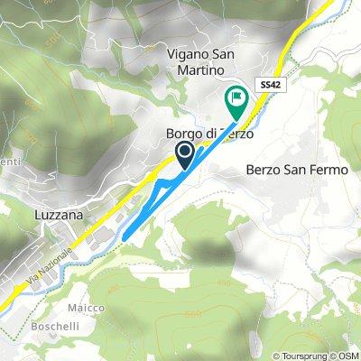 Spred Out Afternoon Ride In Borgo Di Terzo allenamento pattini