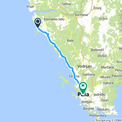 Rovinj to Pula