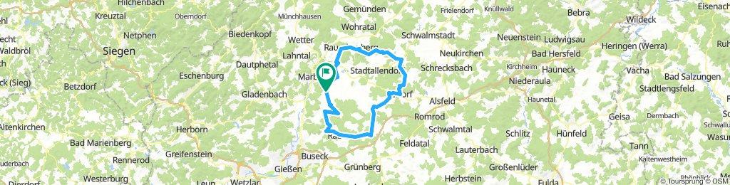 Ebsdorfer Grund - Homberg - Kirtorf - Neustadt - Rauschenbrg