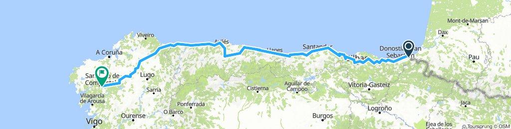 Camino de Santiago - Camino del Norte (Completo)