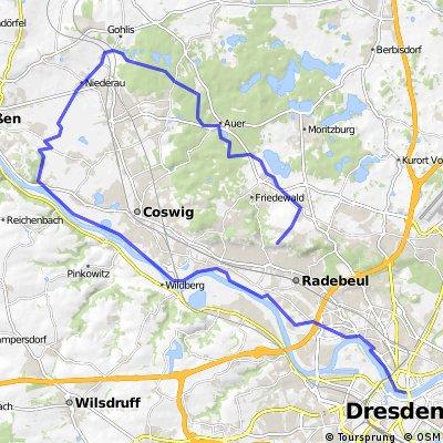Friedewald, Elberadweg