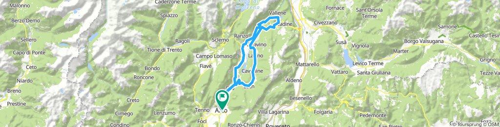 Arco-Valle dei Laghi-Passo Uladrico-Terlago