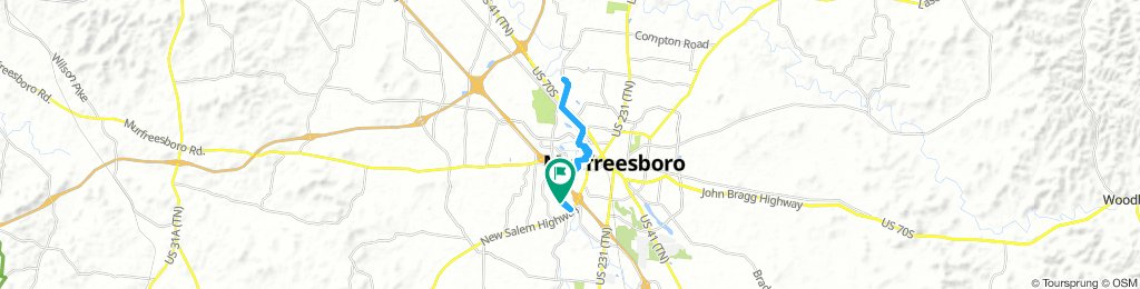 Snail-Like Thursday Course In Murfreesboro