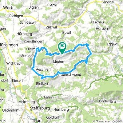 Ringgis - Röthenbach - Heimenschwand - Oberdiessbach - Aebersold