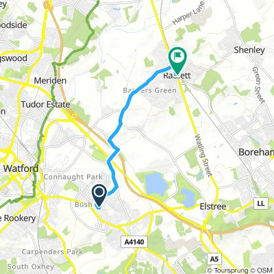 cycle to radlette