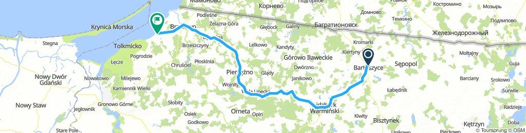 Bartoszyce-Lidzbark Warmiński-Frombork