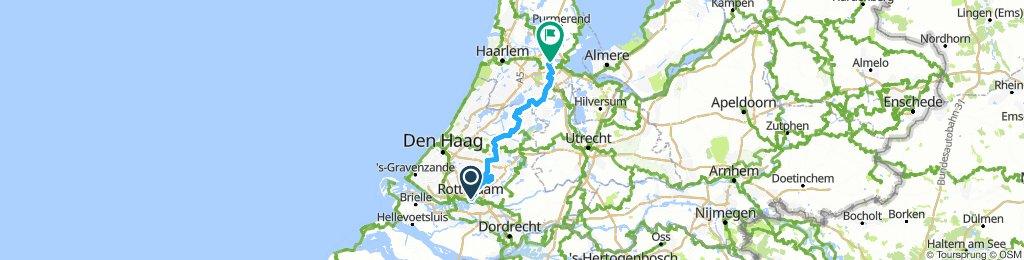 amsterdam to rotterdam