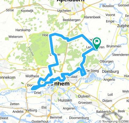 Isis Dwars door Gelderland - Dag 1 - 83 km