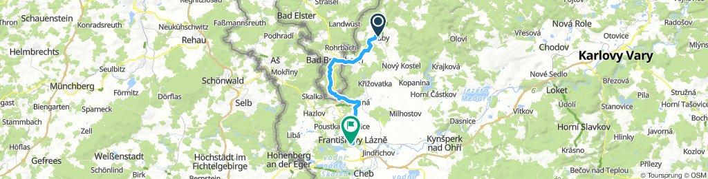 Luby-Bad Brambach-Skalná-Fr.L.
