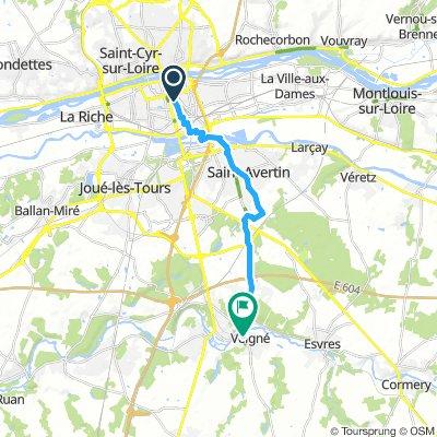 Tours to Vienne via EV3