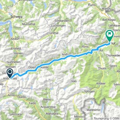 EV15 01.1 Andermatt Chur