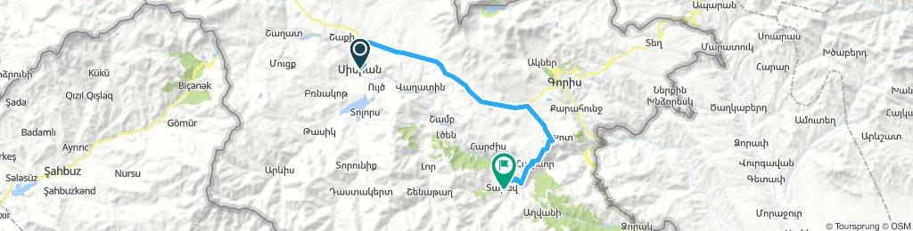 Sisian - Tatev