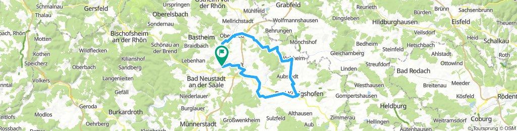 2018-04-28: Bad Neustadt - Bad Königshofen