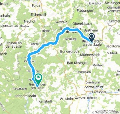 2018-04-29: Bad Neustadt - Bad Brückenau - Gemünden a. M.