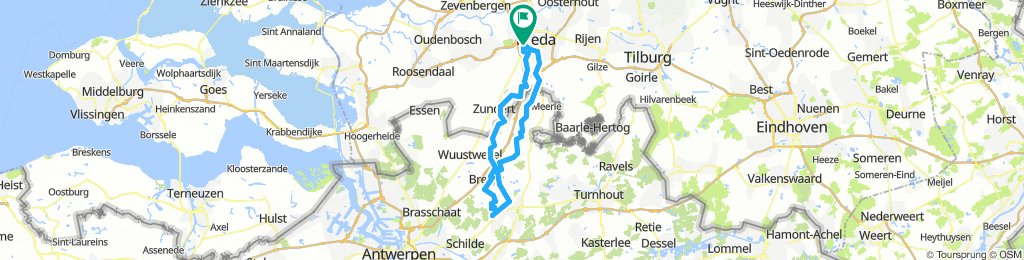 Westmalle route