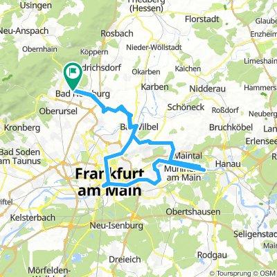 Von BH nach Mühlheim am Main über Bad Vilbel