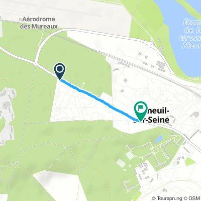Easy Dimanche Ride In Verneuil-Sur-Seine