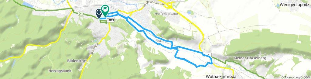 Eisenach wutha und zurück