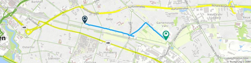 Kurze Ausfahrt durch Bremen
