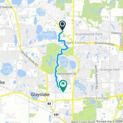 Easy Monday Route In Lake Villa
