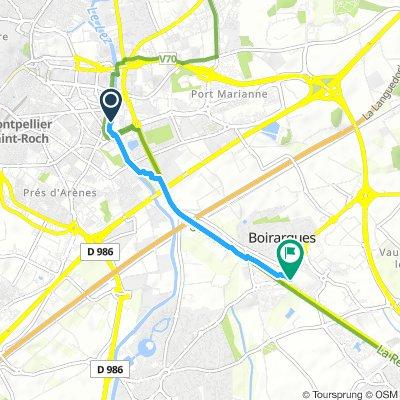 Brief Lundi Route In Montpellier