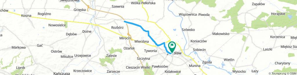 after breakfast In Jarosław