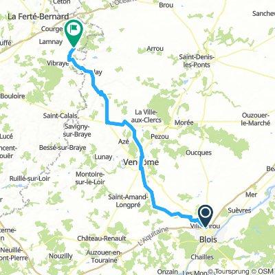 Blois to Melleray Day 7 Sunday