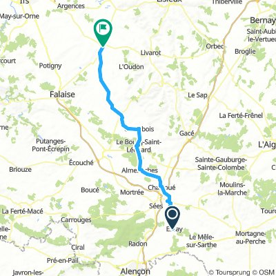 Essay to St Pierre-sur-Dives Day 9 Tuesday