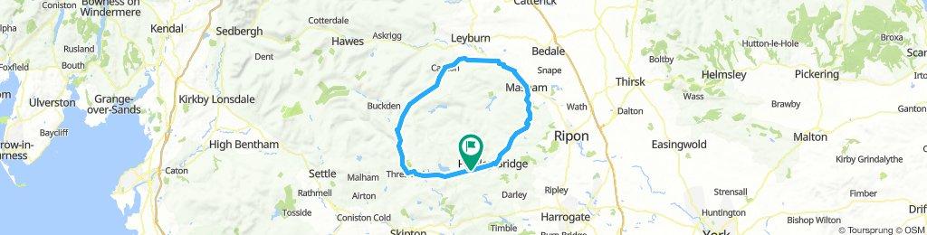 Park Rash/Greenhow round 53 miles