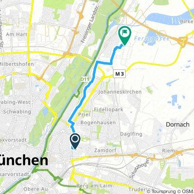 Extensive Mittwoch Track In München