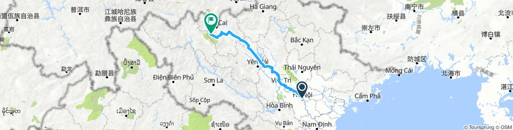 From Hanoi to Sapa, Lao Cai